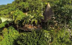 Arial view of Finca Exotica Ecolodge. Photo: Courtsey Finca Exotica Ecolodge