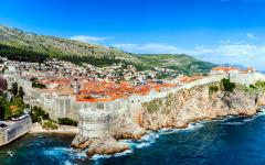 Dubrovnik is a city in southern Croatia fronting the Adriatic Sea.