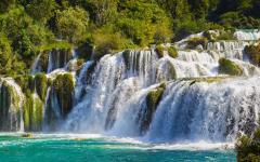 Plitvice Lakes National Park in Croatia.