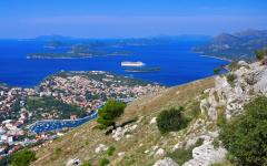 The Elaphiti Islands located Northwest of Dubrovnik, Croatia.