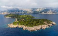 Lokrum Island and nature park near Dubrovnik