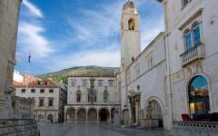 Sponza palace in Dubrovnik, Croatia.