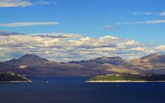 Elaphiti islands in the Adriatic Sea, off the coast of Croatia.