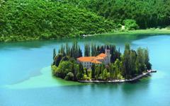 Christian monastery, Visovac
