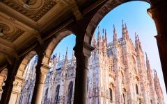 Duomo of the Cathedral of Milan, Italy.