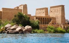 The temple on the Island of Philae.