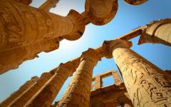 The Temple of Karnak, in Luxor.