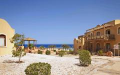 El Quseir beach resort on the Red Sea