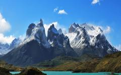 Torres del Paine in Chile.