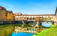Ponte Vecchio in Florence, Italy.