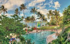 Royal Davui's pool in Fiji. Photo courtesy of Royal Davui.