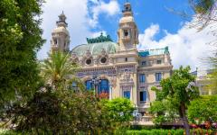 The Opéra de Monte-Carlo in Monaco.