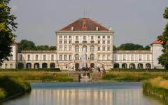 The well-known Nymphenburg Palace, Munich