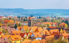 Traditional Homes of Rothenburg