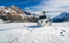Helicopter hike to Tasman Glacier.