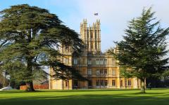 Highclere Castle. Photo by Haley Blackmore on Flickr