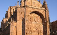 Iglesia del convento de San Esteban, Salamanca. Photo by Rafaelji