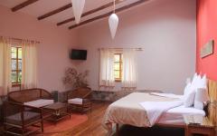 A guest room at Villa Urubamba. Photo: Courtesy Villa Urubamba