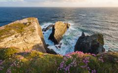 Sunset on Brow Head, in County Cork.