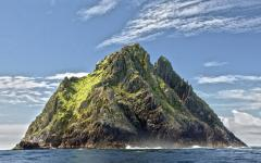 Skellig Michael in County Kerry, Ireland.
