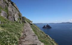 A view from Skellig Michael. Credit: Ireland Tourism Board