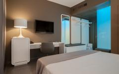 Couples Room at 8PiuHotel. Photo Credit: 8PiuHotel
