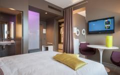 Double Room at 8PiuHotel. Photo Credit: 8PiuHotel