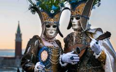 The Carnival of Venice, Italy.