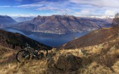 Moutain Bike over Lake Como. Photo Credit: Hotel Europa