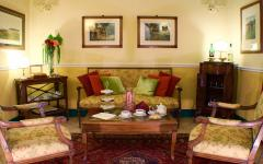 Tea Room at Hotel Rosary Garden. Photo Credit: Hotel Rosary Garden