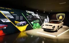 The Lamborghini Museum in Italy. Photo Courtesy: Lamborghini Museum.