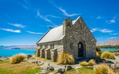 Church of the Good Shepherd at Lake Tekapo.