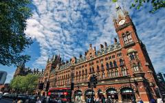 St Pancras railway station, London. Photo by The Wolf on Flickr