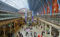 St Pancras railway station, London. Photo by Maria Giulia Tolotti