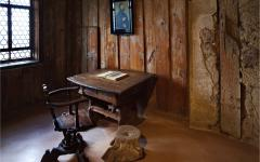 Martin Luther's Desk