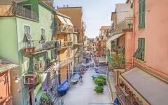 A street in Manarola, Italy.