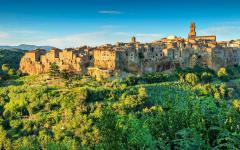 Pitigliano in Tuscany.