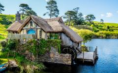 A home in Hobbiton.