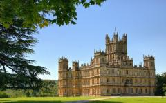 Highclere Castle - the real Downton Abbey.  Photo credit: zen whisk on Flickr.