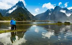Milford Sound through a landscape of unbelievable grandeur and beauty.