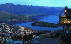 Spectacular view of Queenstown.