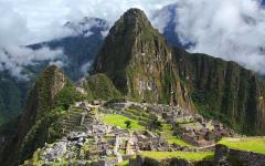 Ancient city of Machu Picchu.