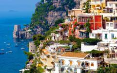A view of Positano.