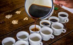 Try hand-poured coffee.