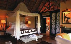 Luxurious bedroom in the Royal Malewane | South Africa