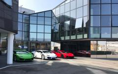 Lamborghini factory and museum. Photo credit: hydra viridis / Shutterstock.com