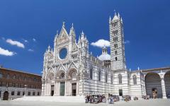 The Siena Cathedral in Tuscany.