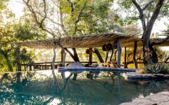 Safari lodge in Kruger National Park.