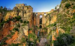 spain andalusia the village of ronda