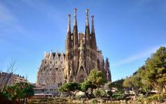 spain barcelona sagrada familia